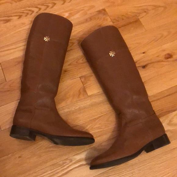 dad0cd37e65ca Tory Burch  Jolie  Riding Boots 7 1 2. M 5be0ebdafe515136e9c40c72